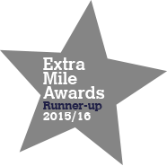 Extra Mile Runner Up