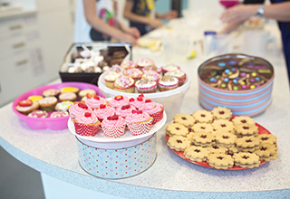 Fairtrade fortnight bake sale
