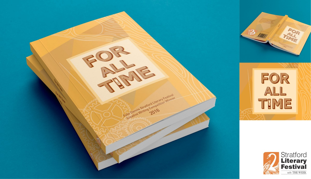 For All Time book jacket design