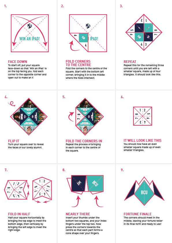 How to Make a Fortune Teller | Origami fortune teller, Fortune ... | 842x596