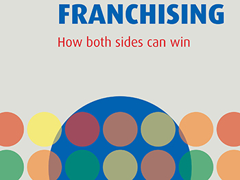 Franchising: How Both Sides Can Win- Chris Edger cover