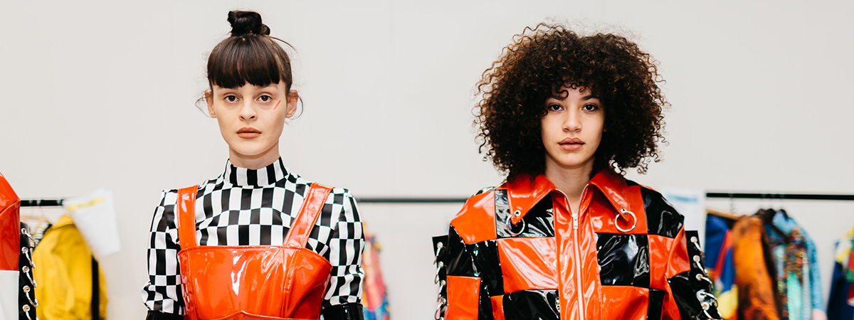 Behind the scenes at Graduate Fashion week