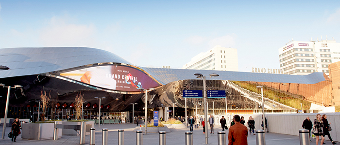 grand central - working in Birmingham