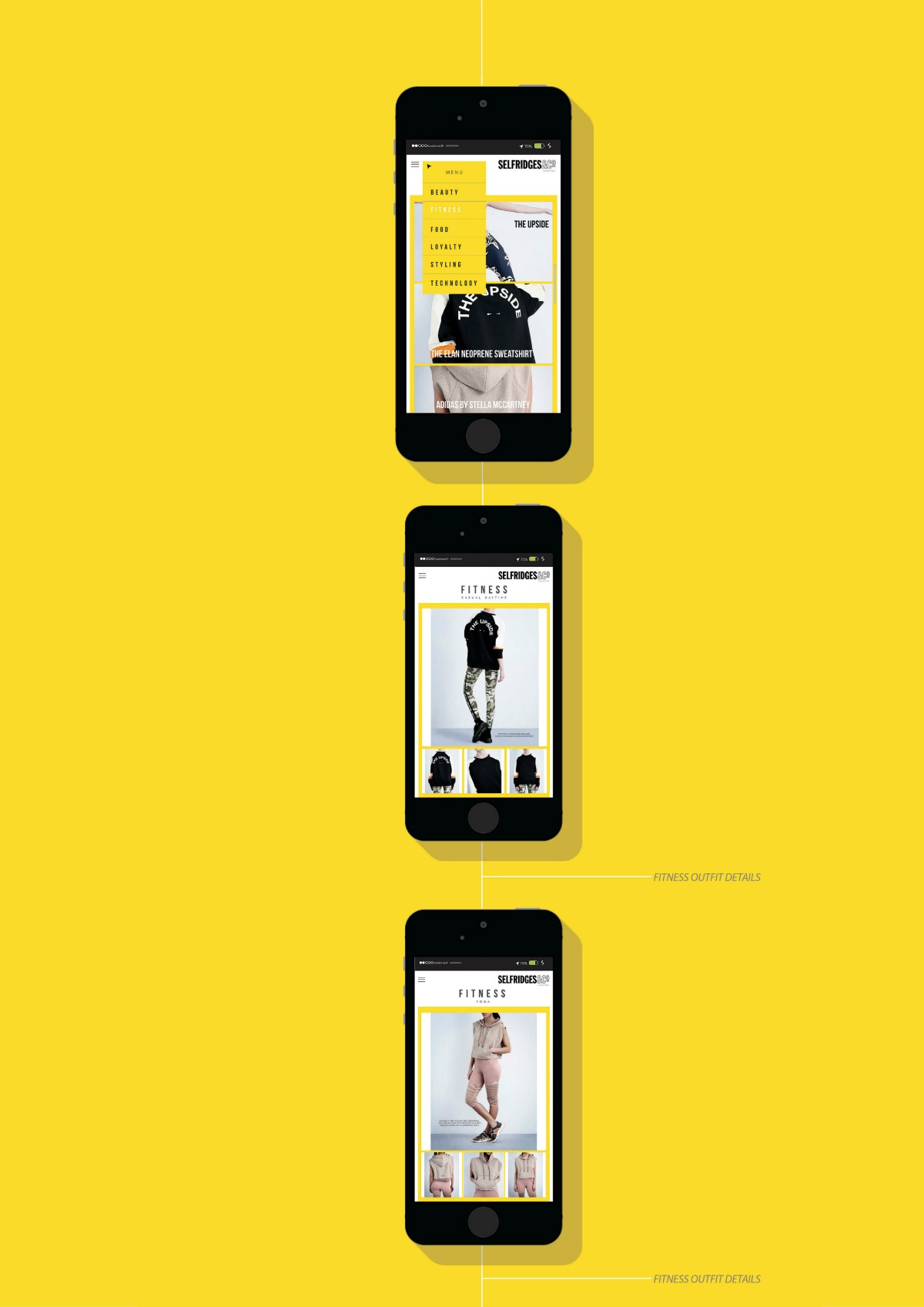 Selfridges Lifestyle App