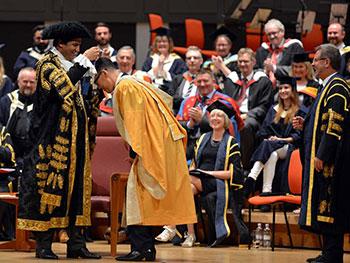 Honorary doctorates