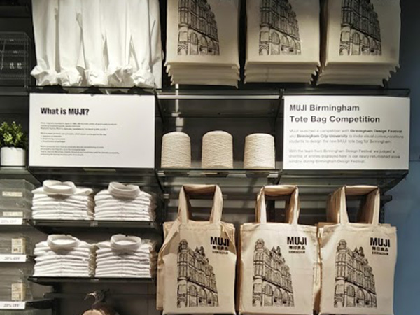muji tote bag sell