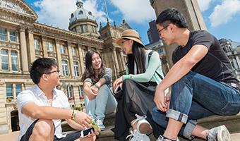 International student Birmingham