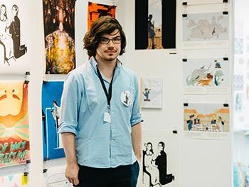 james illustration new designers 2018 viscom