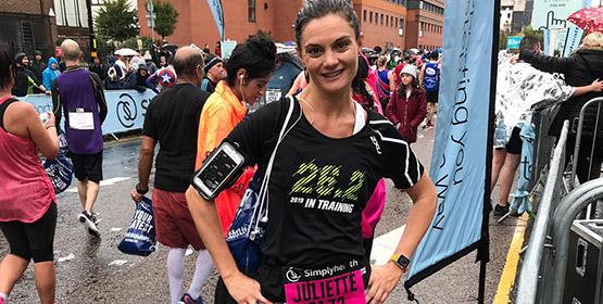 juliette blog 2 - half marathon