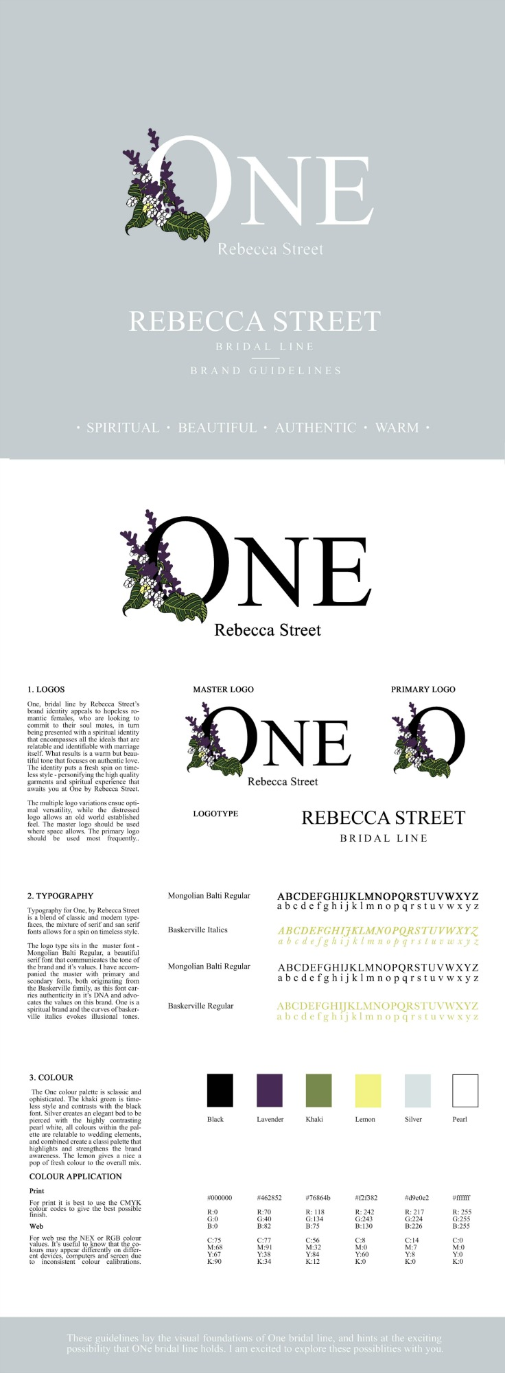 Rebecca Street Brand Identity and Guidelines