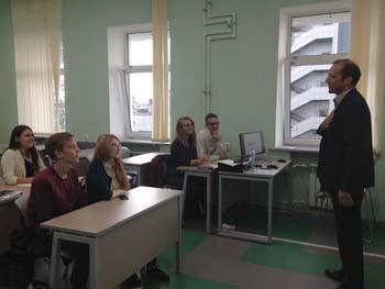 Birmingham City University builds links with Kazan Federal University