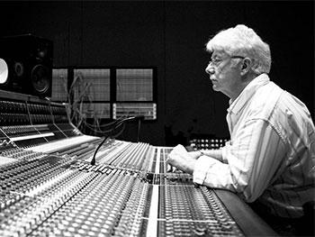 Ken Scott mixing desk