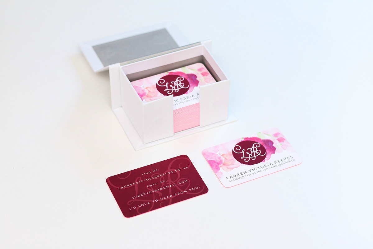 Self Promotion - LVR Business Cards