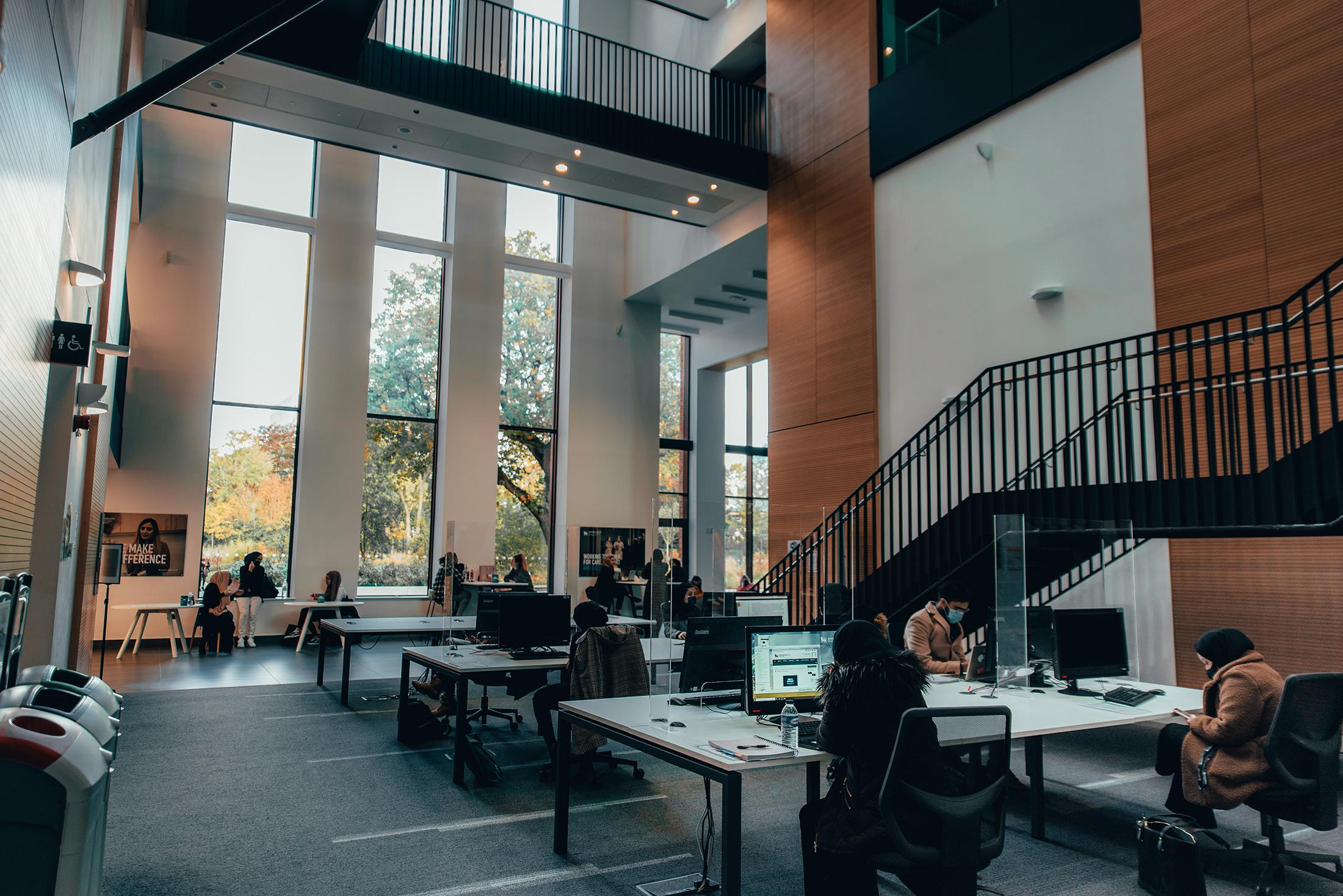 Seacole building study zone