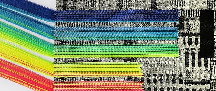 Work by Textile Design student Loren Evans