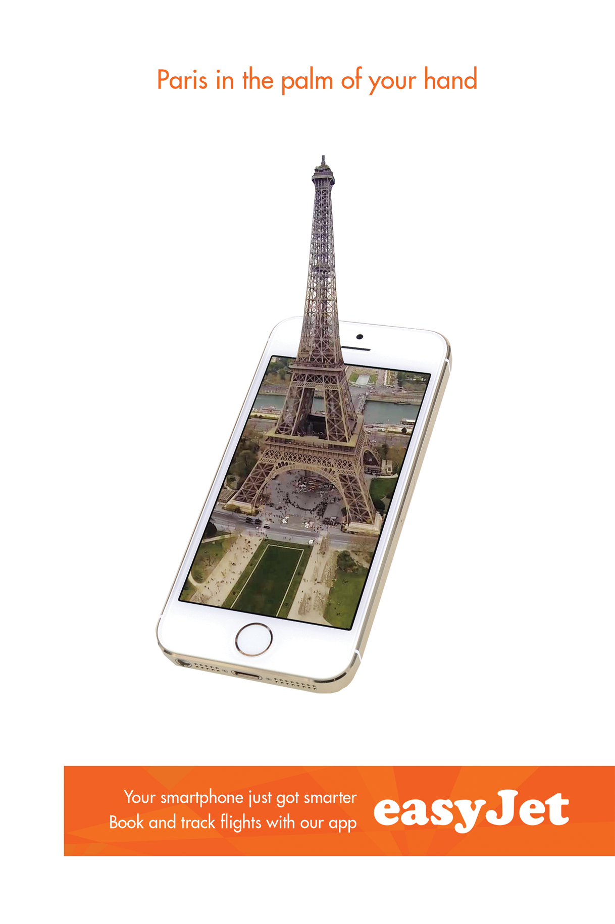 Easyjet - Paris in the palm of your hand