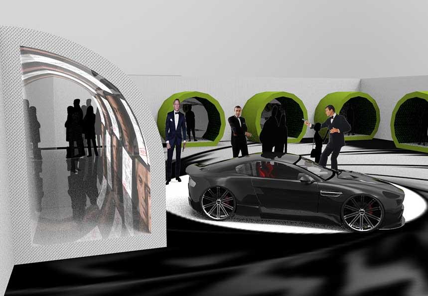 Immersive James Bond Exhibition