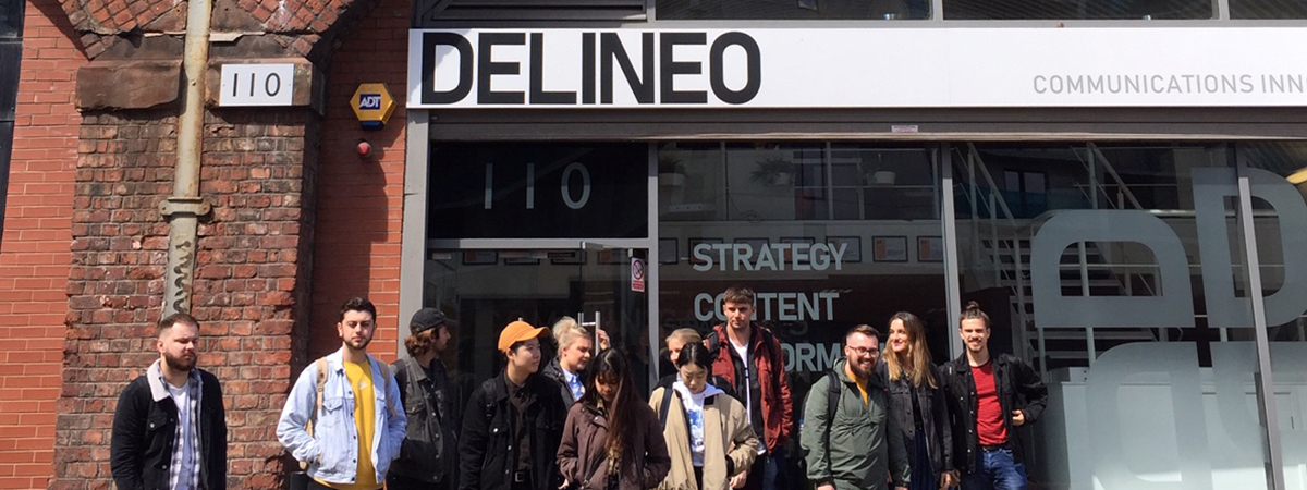 BA (Hons) Graphic Communication students were recently given the opportunity to visit a variety of Manchester-based agencie