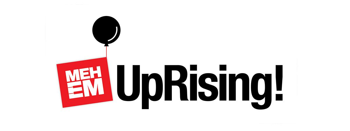 MEHEM uprising logo