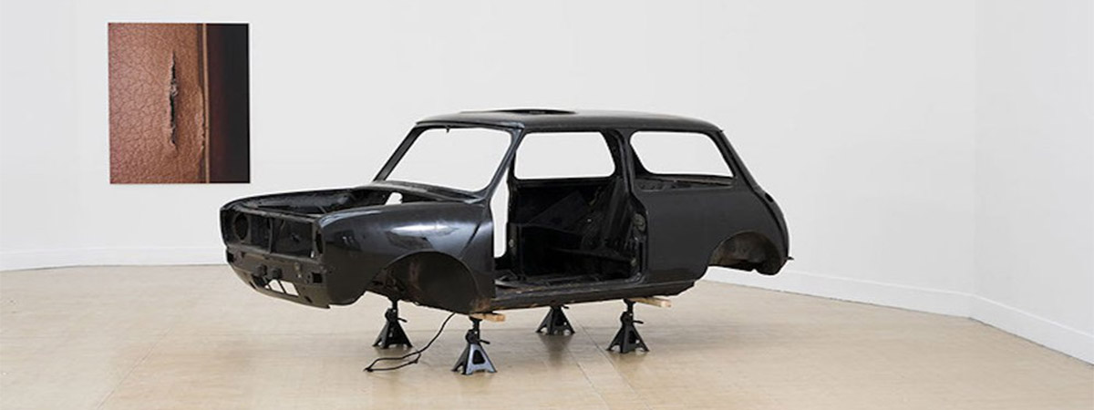 Stuart Whipps' art project, which saw a Mini Cooper exhibited at the IKON Gallery