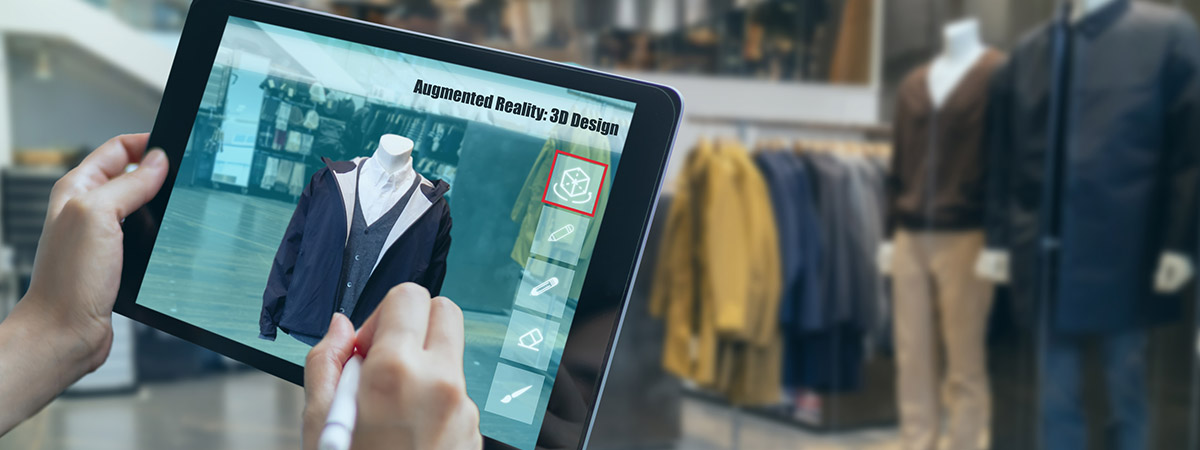This knowledge transfer partnership with Murray Uniforms uses augmented reality to improve their designs.