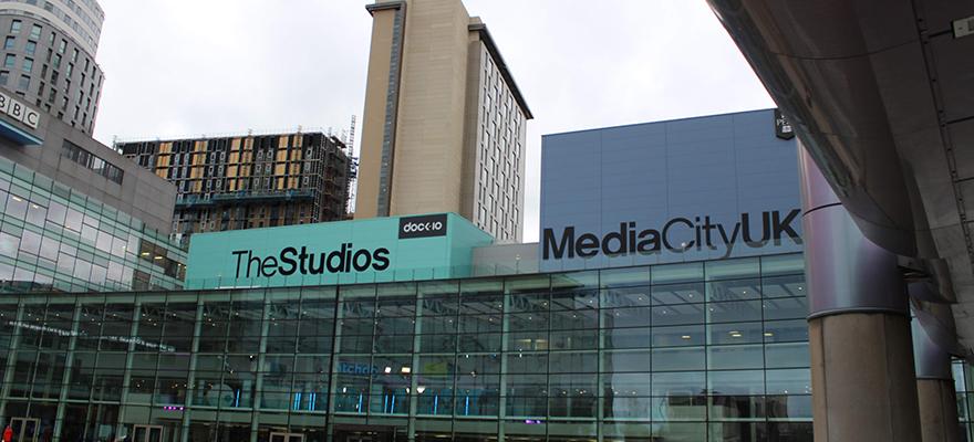 BCU media students visit Manchester.