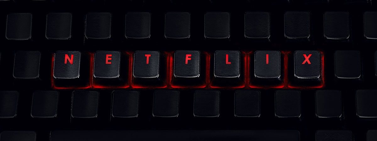 Netflix List Article 1200x450 - Netflix spelt out on a keyboard
