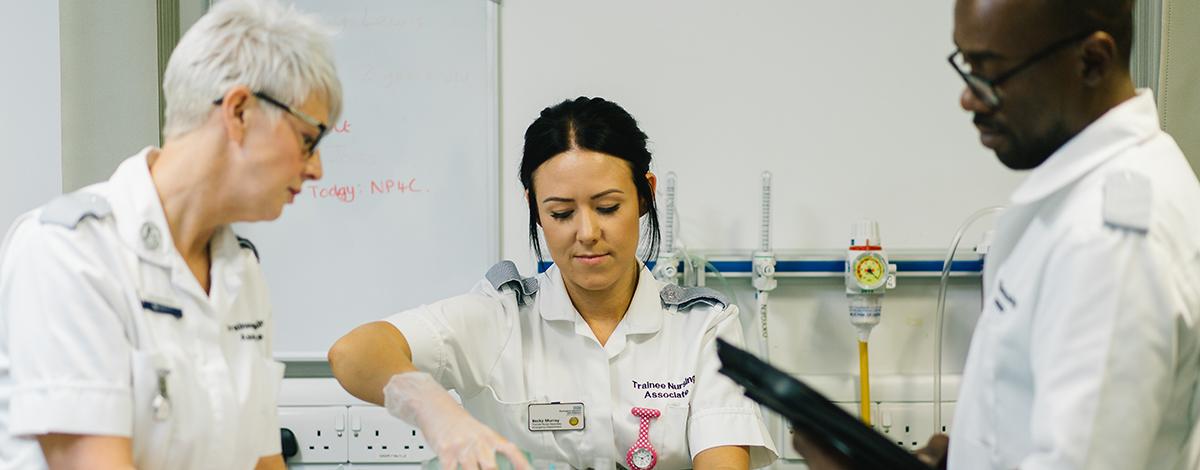 Nursing Associate Higher Apprenticeship - FdSc - 2019/20