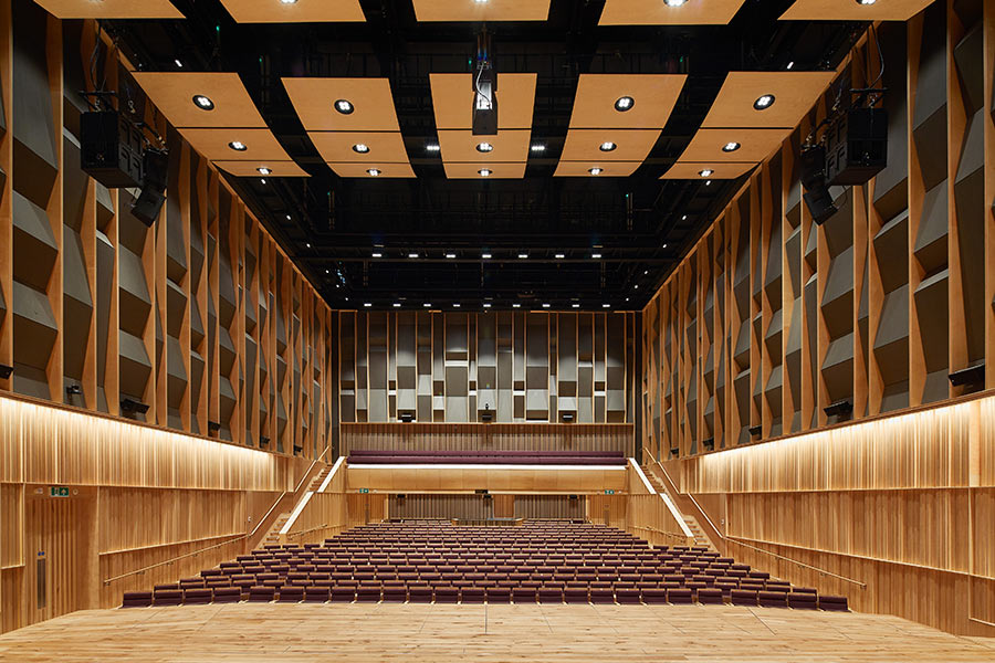 500 seat Concert Hall