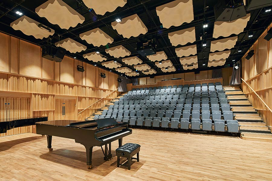 150 seat Recital Hall