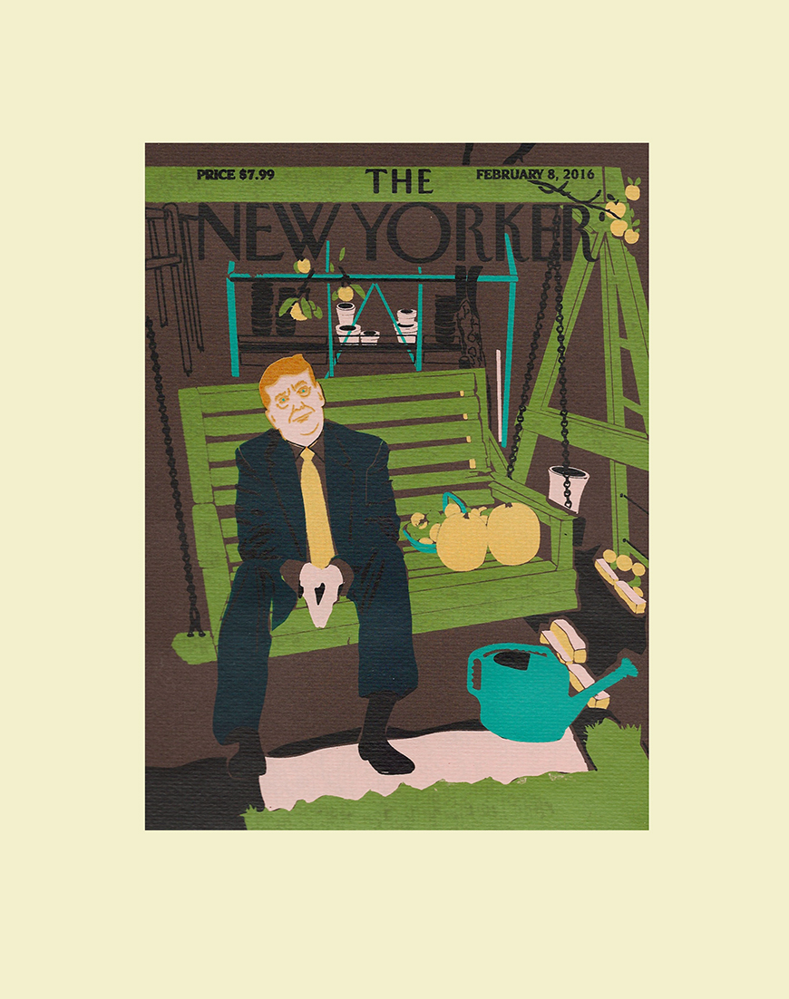 'New Yorker' Fall Magazine Cover