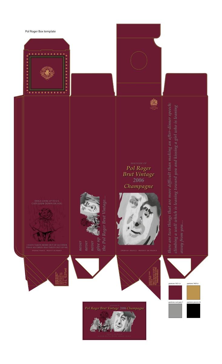 'The Winston Churchill Magnum of Champagne'