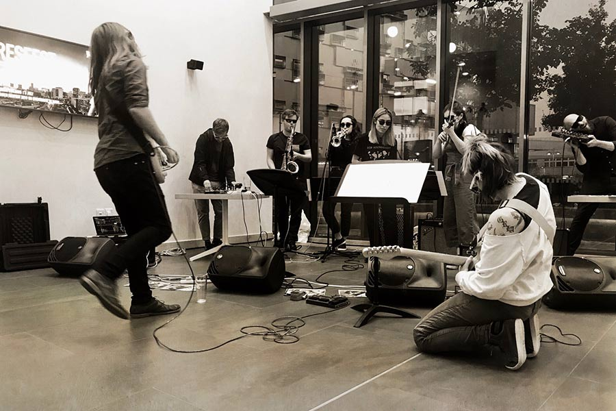 Performance in Conservatoire Atrium