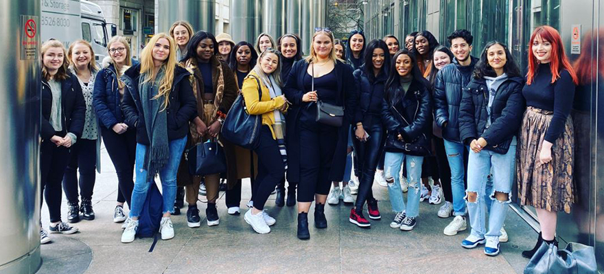 PR London trip- go global with your degree blog