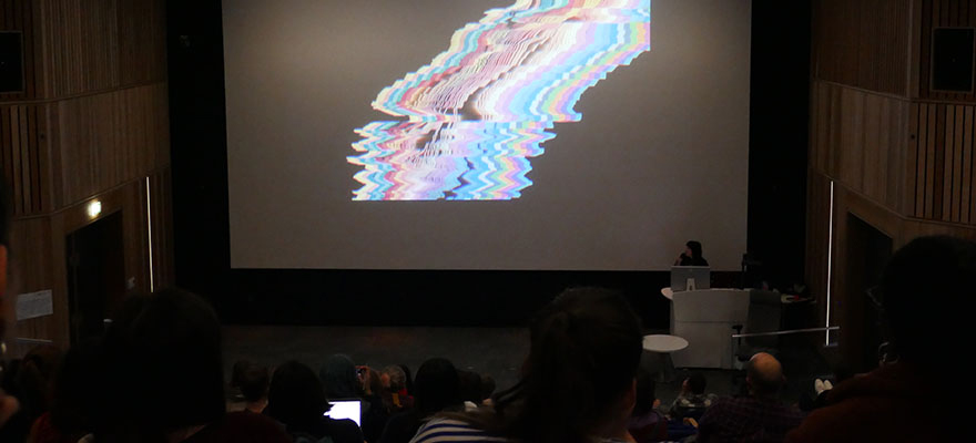 Students were invited to attend a Type Talk from Sarah Boris, an award winning graphic designer, art director and artist.