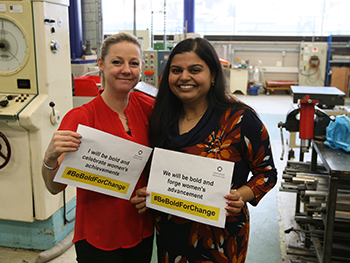 Roshni Paul and Lynsey Melville on International Women's Day