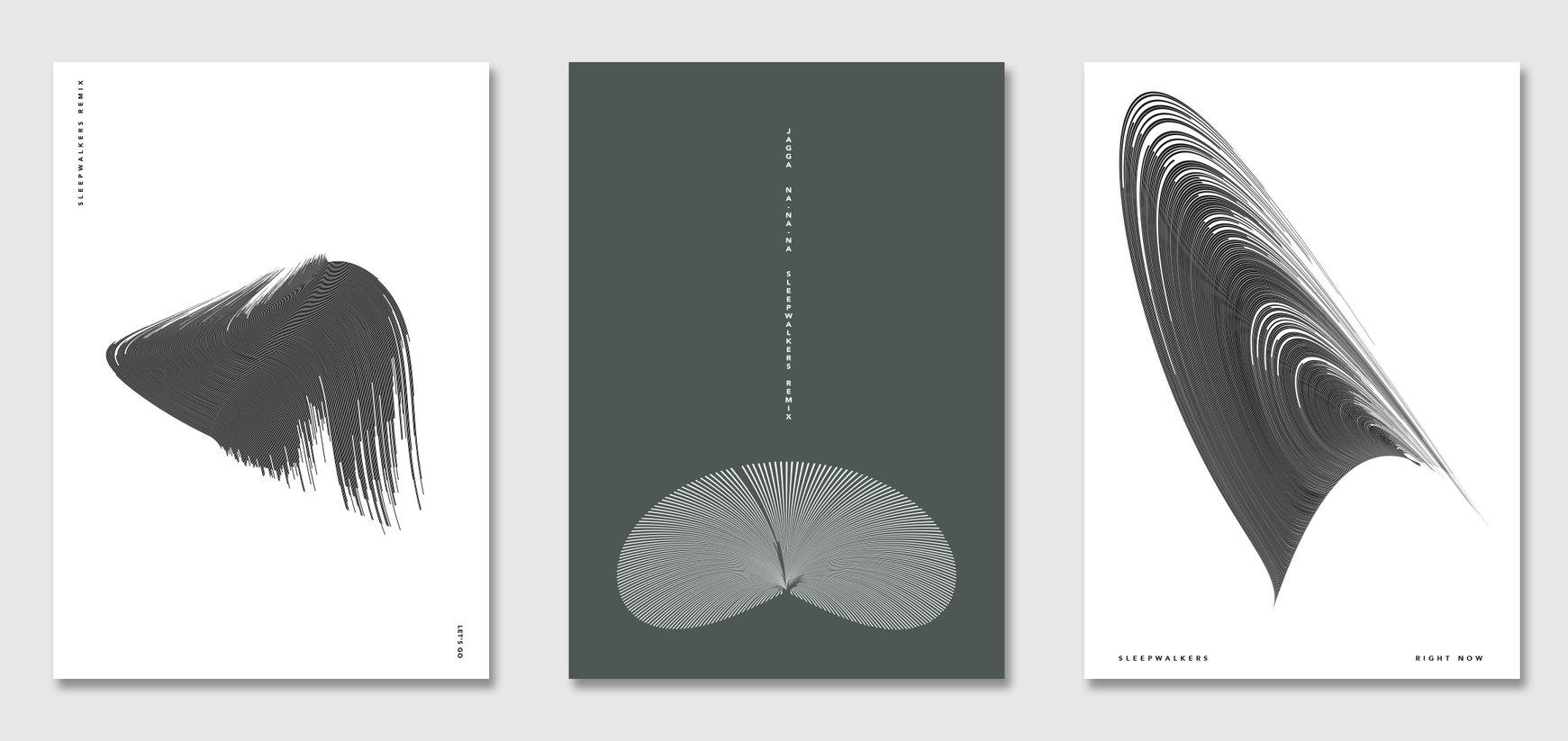 Sleepwalkers Waveform Poster Series