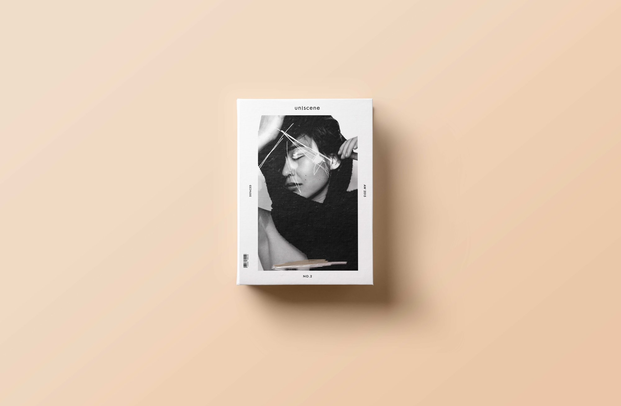 Limited Edition Print Design and Art Direction 'un scene magazine' 1