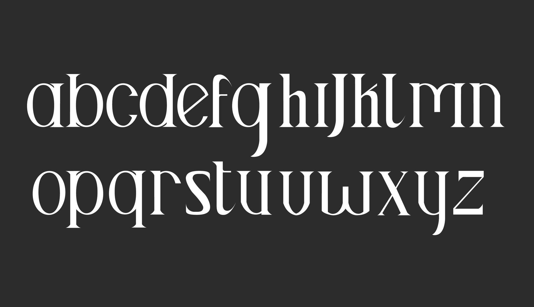 The Historian Typeface
