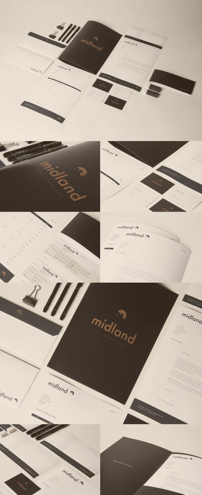Midland Bank - Visual Identity