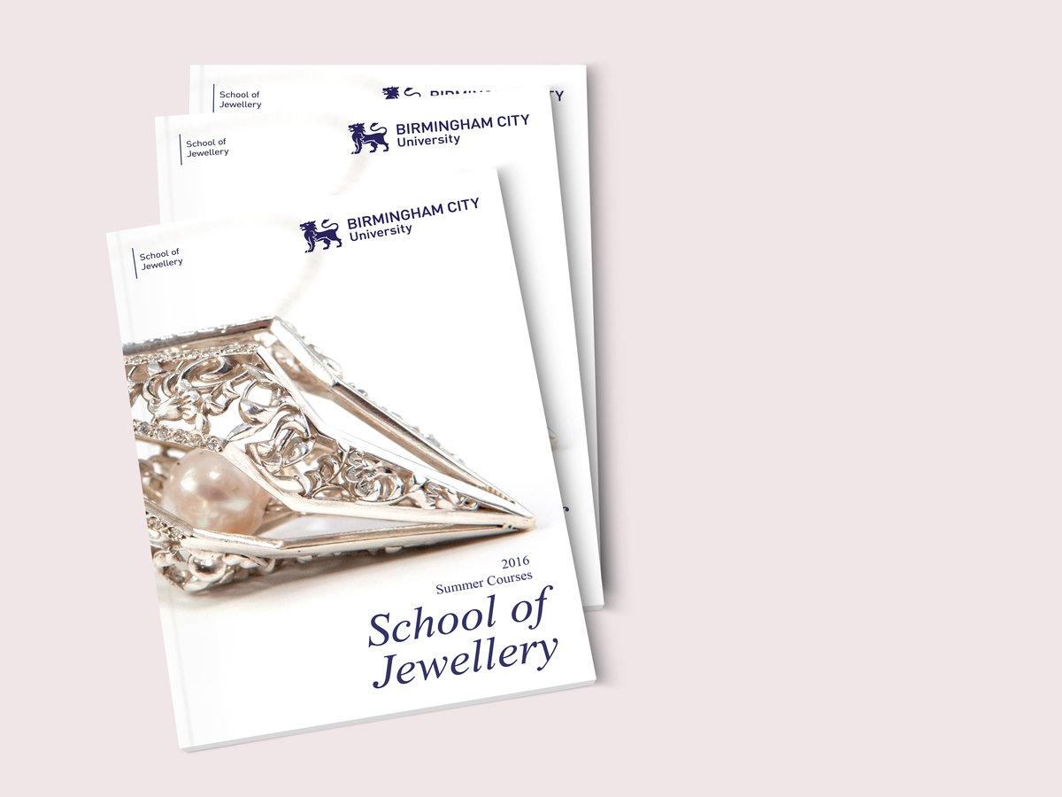 School of Jewellery Summer Brochure 01
