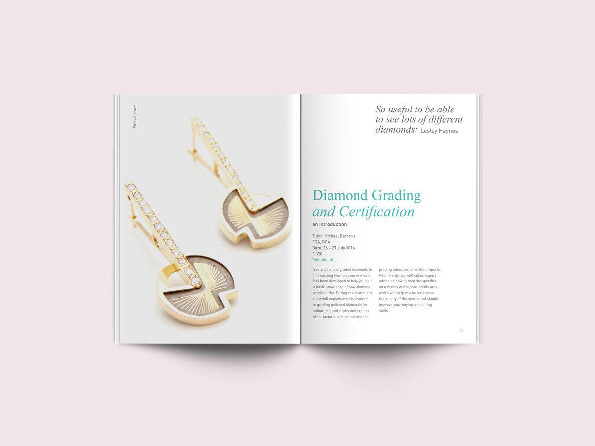 School of Jewellery Summer Brochure 02