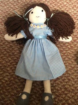 Raggedy Doll Prop