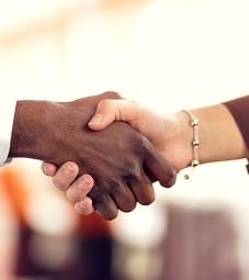 HELS interviews impressions - shake hands