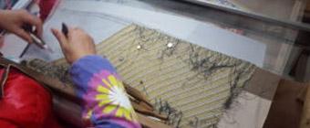 Silk tapestry 1