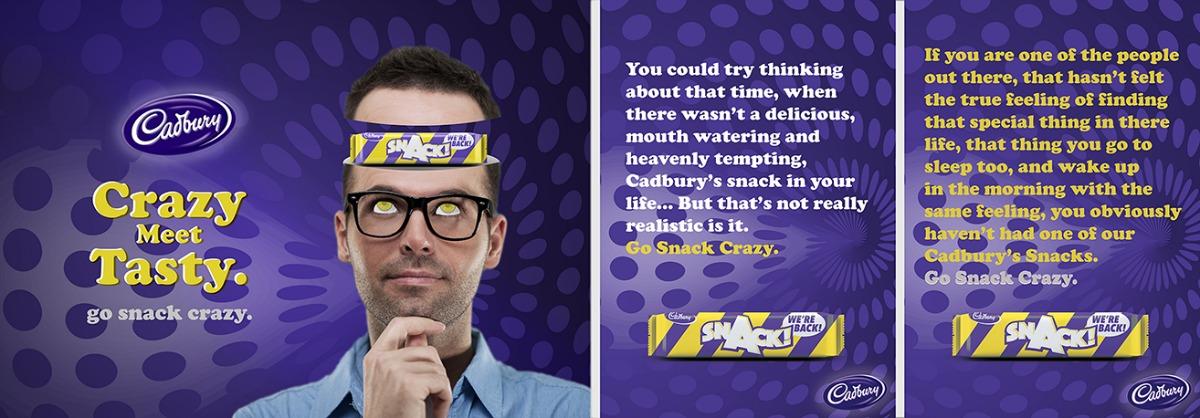 Go Snack Crazy - Cadbury's 2