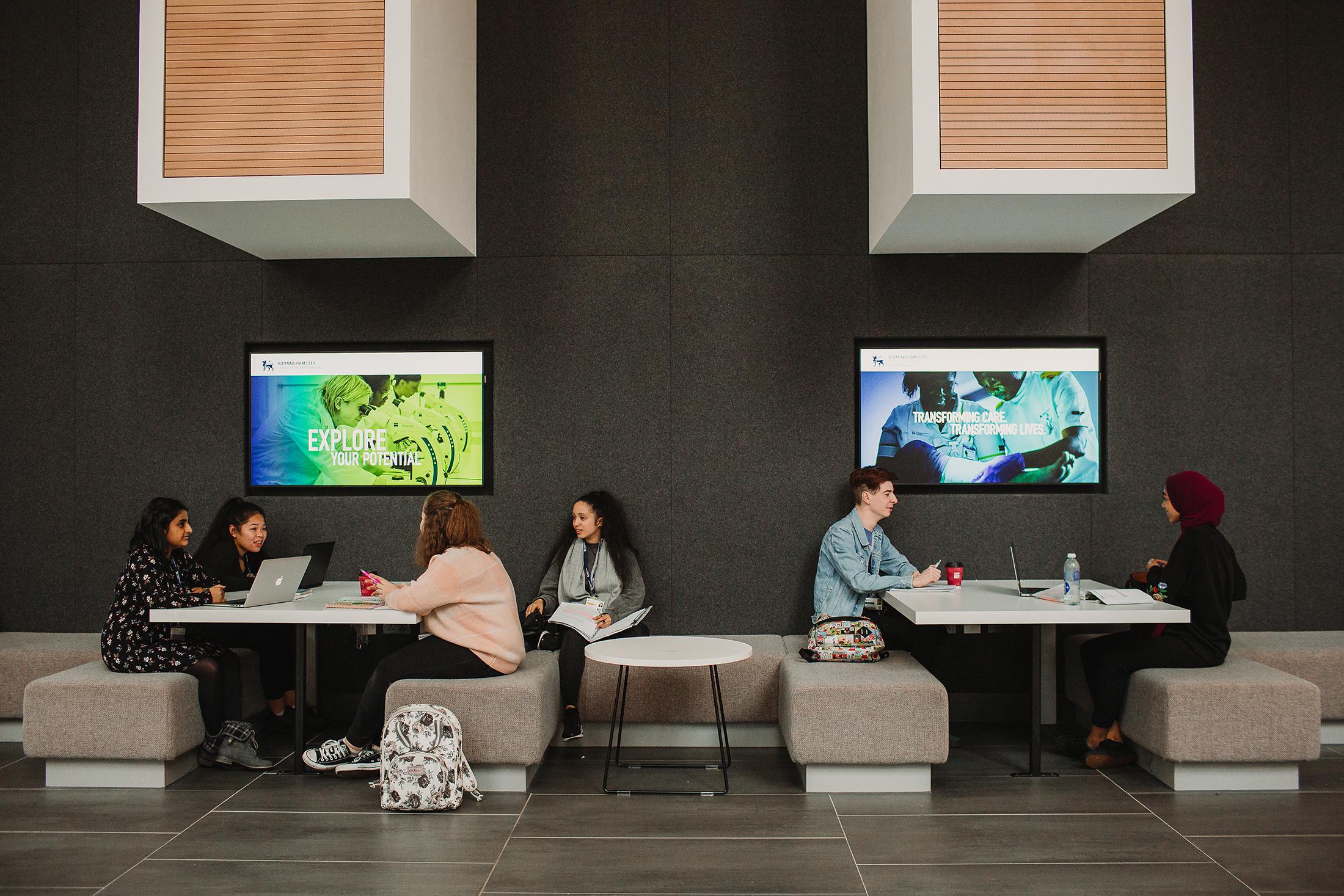 Seacole atrium study space