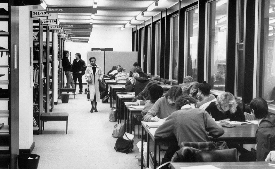 uni in the 80s