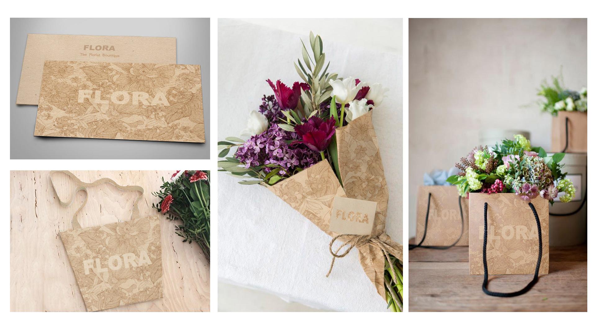 Branding - FLORA Florist Boutique