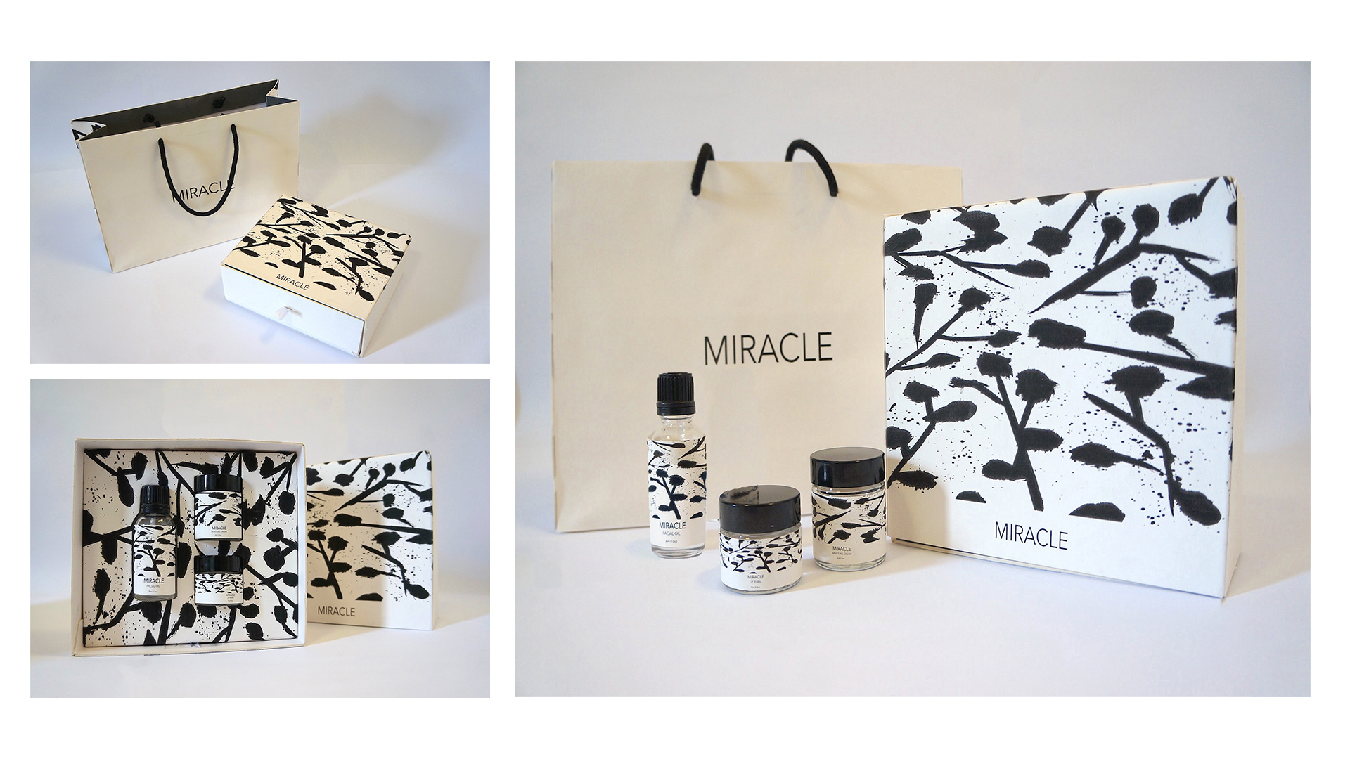 Miracle - Beauty Brand Packaging design